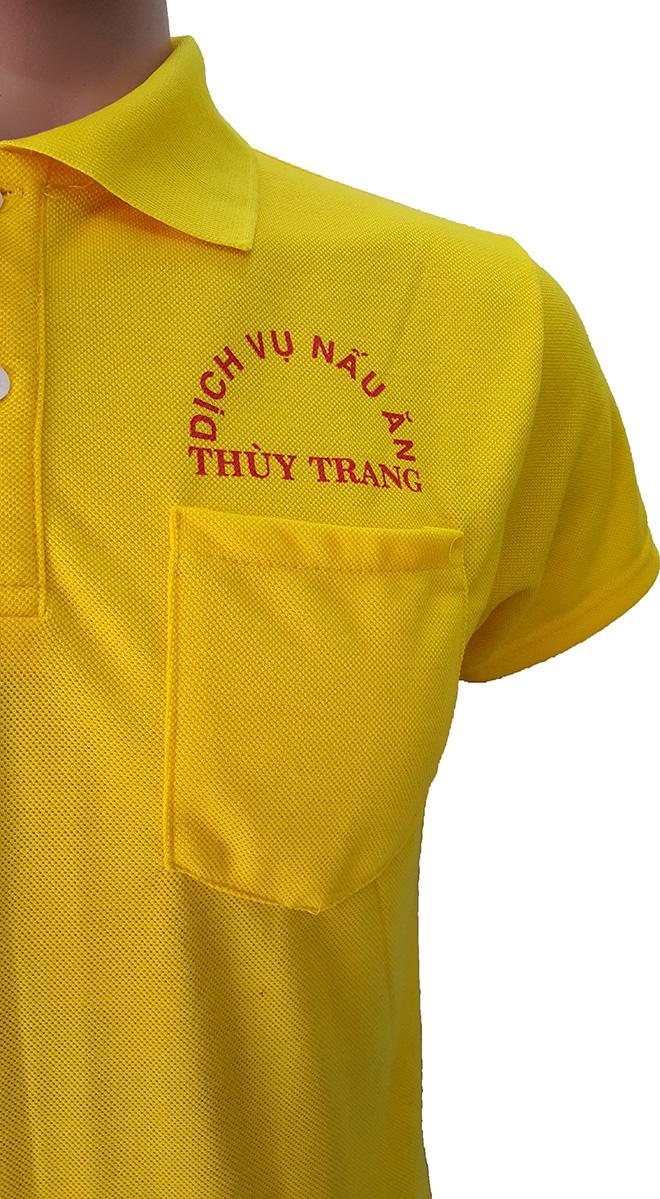 Áo thun đồng phục của dịch vụ nấu ăn Thùy Trang - hình 2
