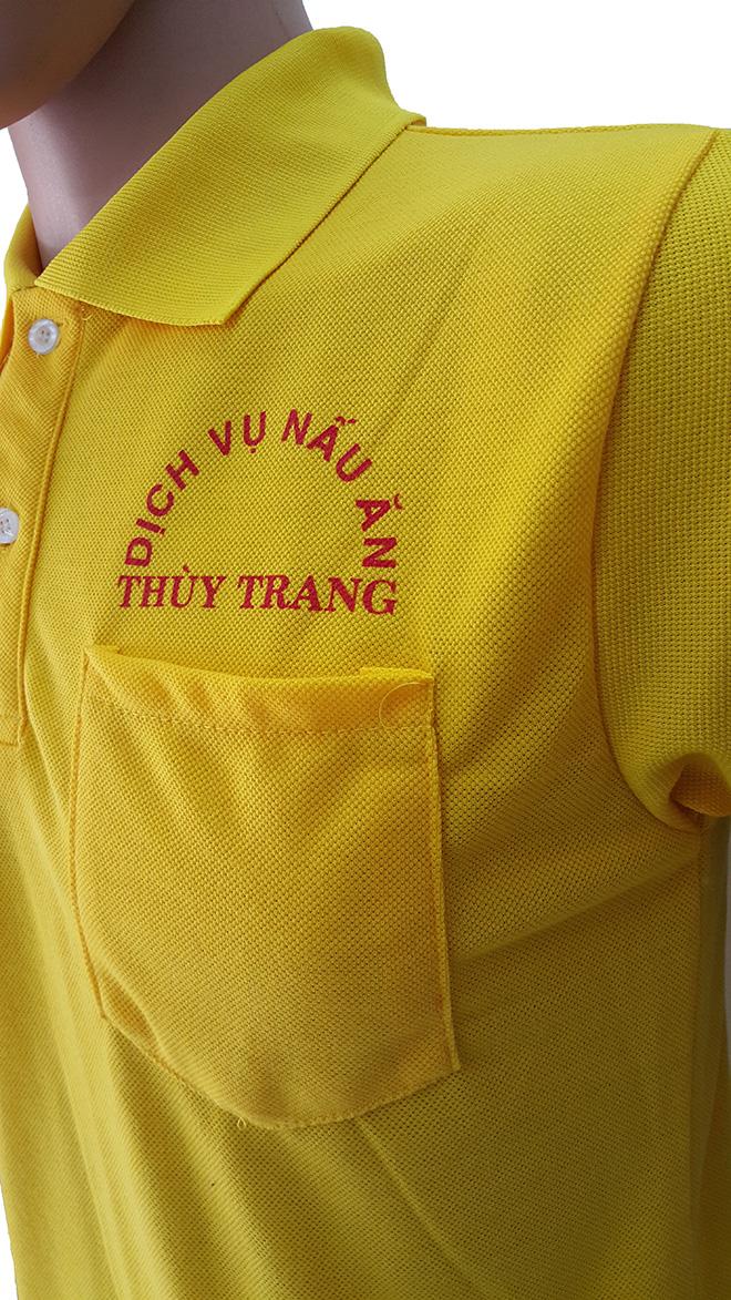 Áo thun đồng phục của dịch vụ nấu ăn Thùy Trang - hình 3