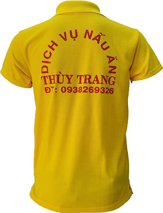 Áo thun đồng phục của dịch vụ nấu ăn Thùy Trang - hình 4