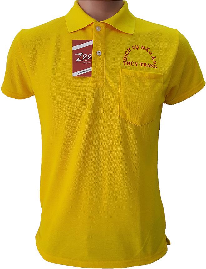 Áo thun đồng phục của dịch vụ nấu ăn Thùy Trang - hình 1