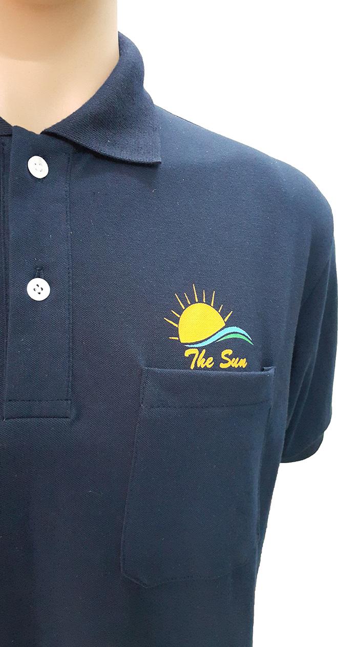 Áo thun đồng phục dịch vụ quảng cáo The Sun - hình 2