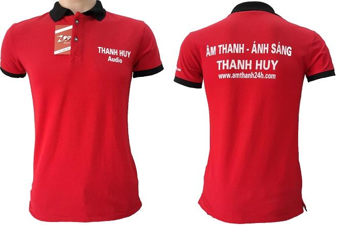 Áo thun đồng phục của Thanh Huy Audio