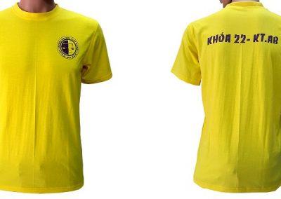 Đồng phục áo nhóm cựu sinh viên - màu vàng - zeeuni.com