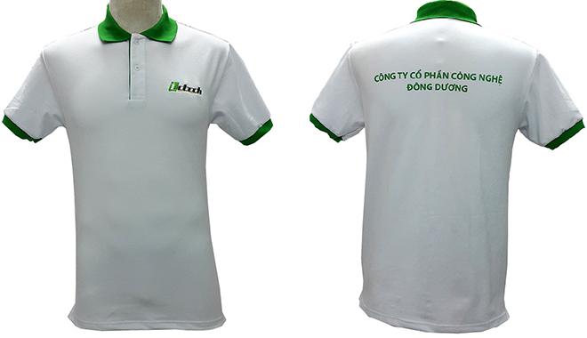 Đồng phục áo thun của công ty Công Nghệ Đông Dương - hình 1 - zeeuni.com/dong-phuc-cong-so