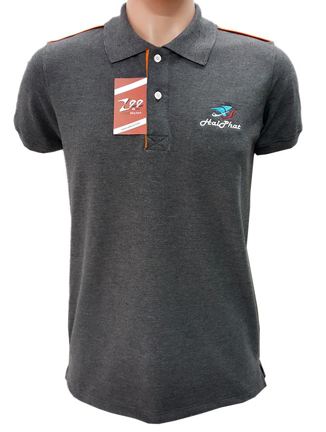 Đồng phục áo thun công nhân Hải Phát -hình 1- zeeuni.com
