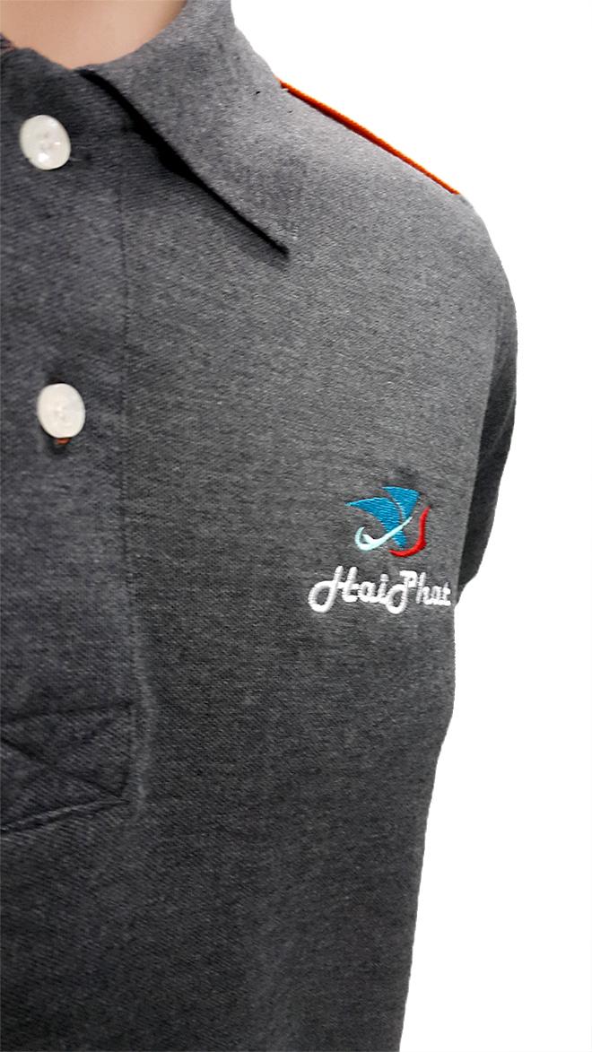 Đồng phục áo thun công nhân Hải Phát -hình 2- zeeuni.com