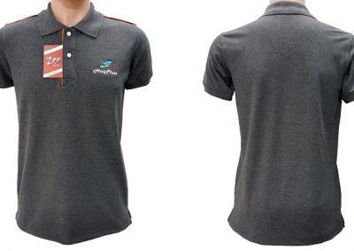 Đồng phục áo thun công nhân Hải Phát - zeeuni.com