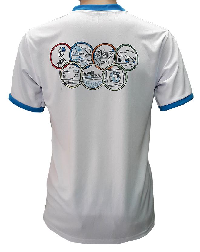 Đồng phục áo thun của công ty ENDRESS - hình 4 - zeeuni.com