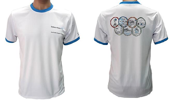 Đồng phục áo thun của công ty ENDRESS - hình 1 - zeeuni.com