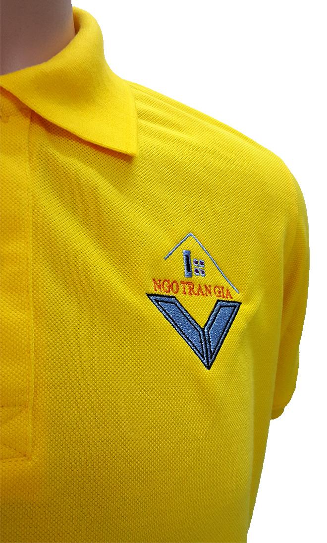 Đồng phục áo thun công ty Ngô Trần Gia -2-zeeuni.com