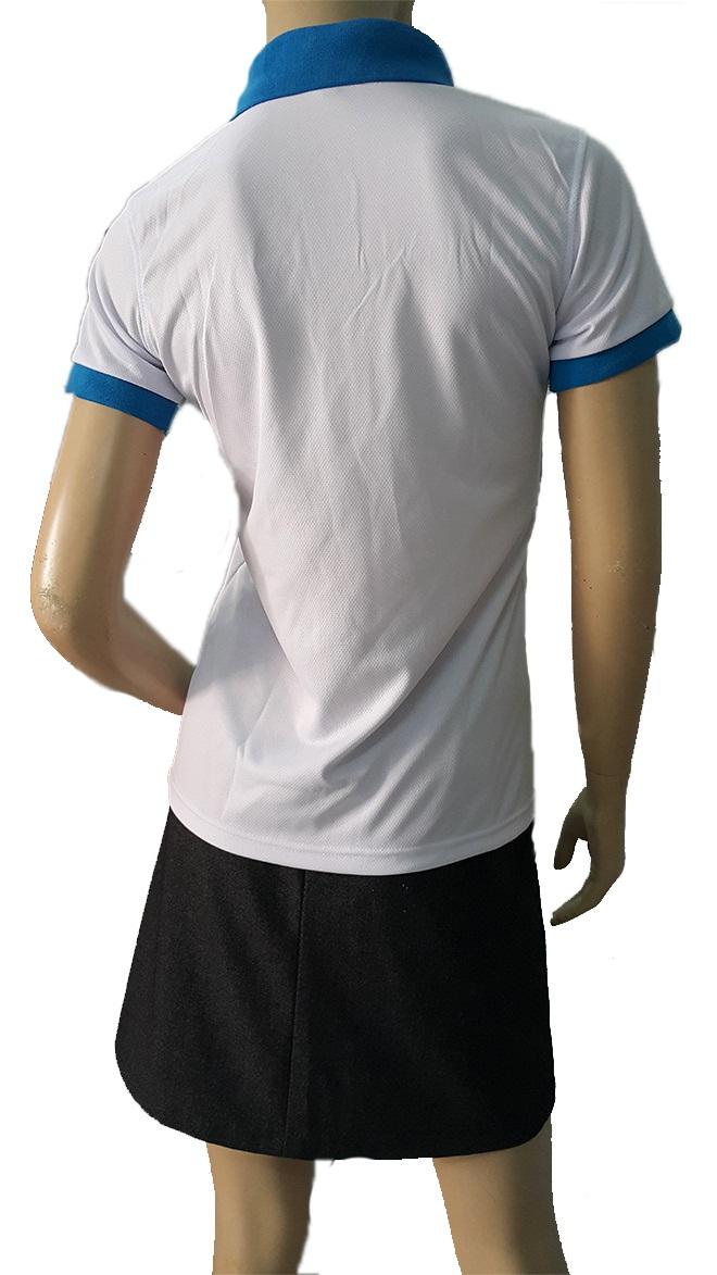 Đồng phục áo thun dịch vụ giặt ủi Biển Xanh - hình 3 - zeeuni.com