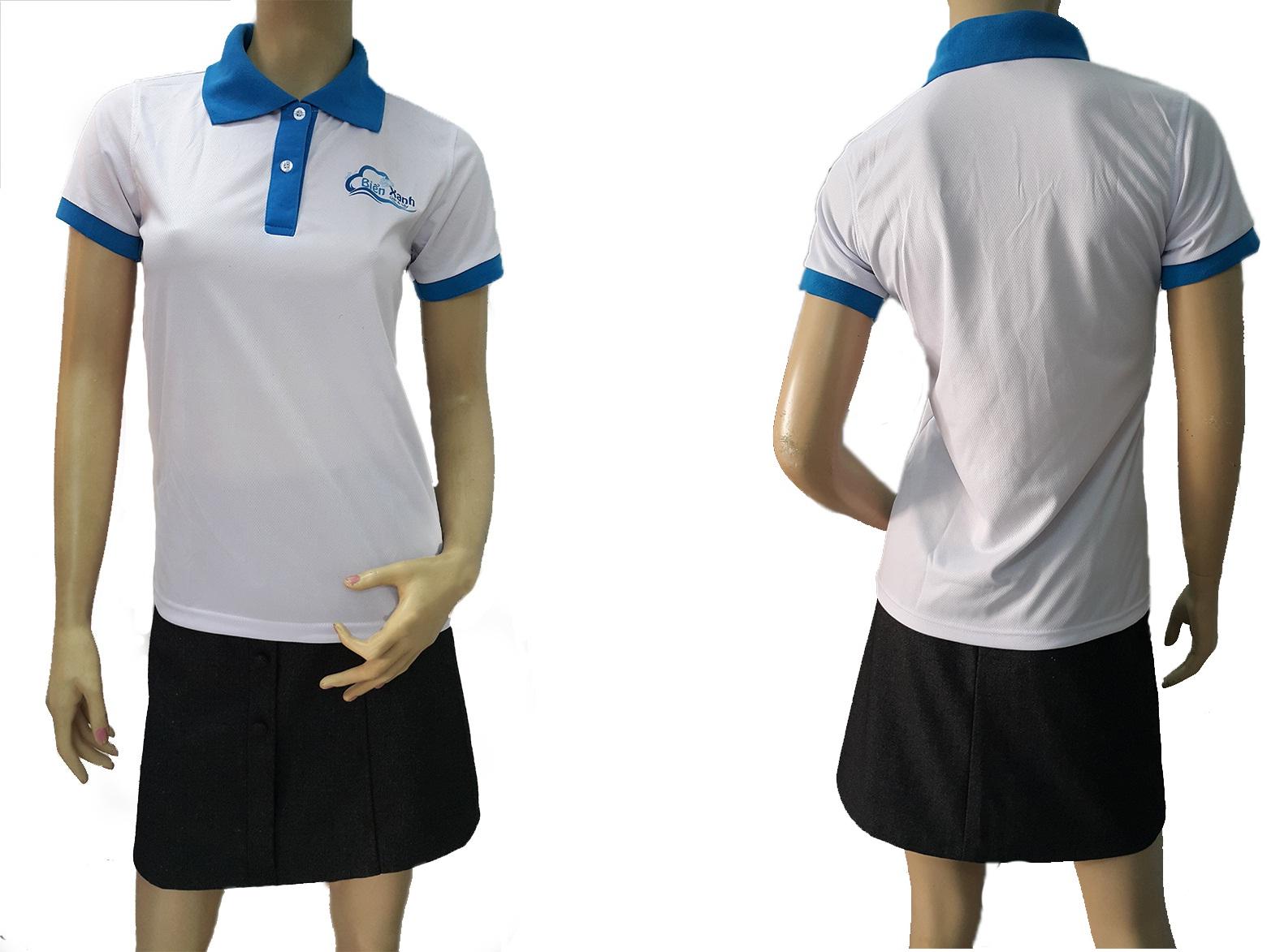may áo thun đồng phục giá rẻ - hình 2 - zeeuni.com