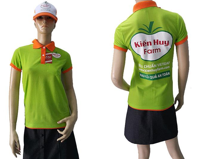Áo thun của công ty Kiến Huy Farm