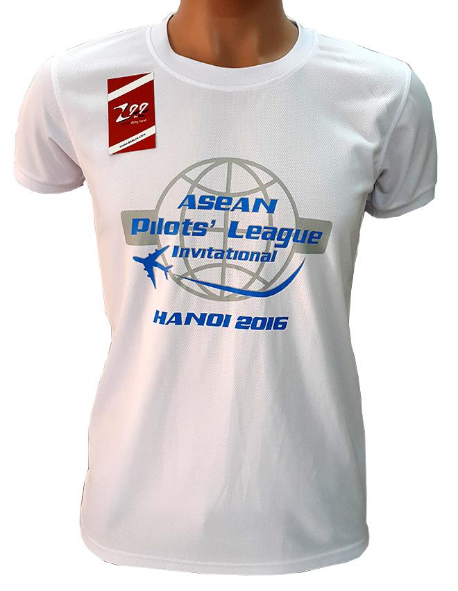 Đồng phục áo thun sự kiện Asean Pilots' League - hình 2 - zeeuni.com