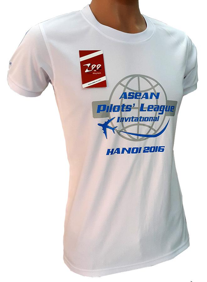 Đồng phục áo thun sự kiện Asean Pilots' League - hình 4 - zeeuni.com