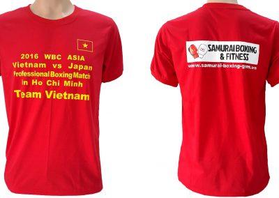 Đồng phục áo thun sự kiện Boxing