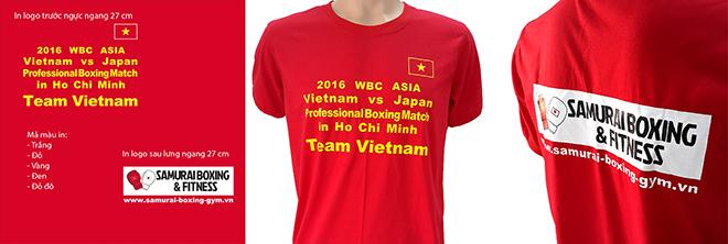Đồng phục áo thun sự kiện Boxing - in lụa