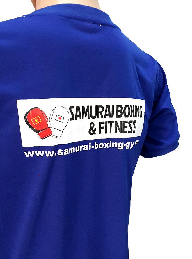Đồng phục áo thun sự kiện Boxing - màu bích - hình 2 - zeeuni.com