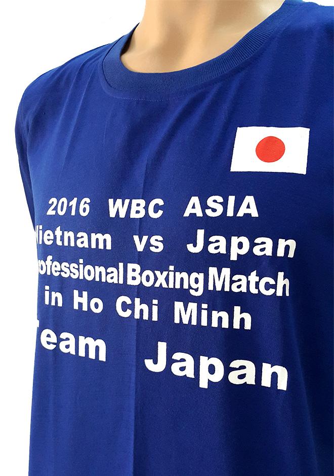 Đồng phục áo thun sự kiện Boxing - màu bích - hình 3 - zeeuni.com