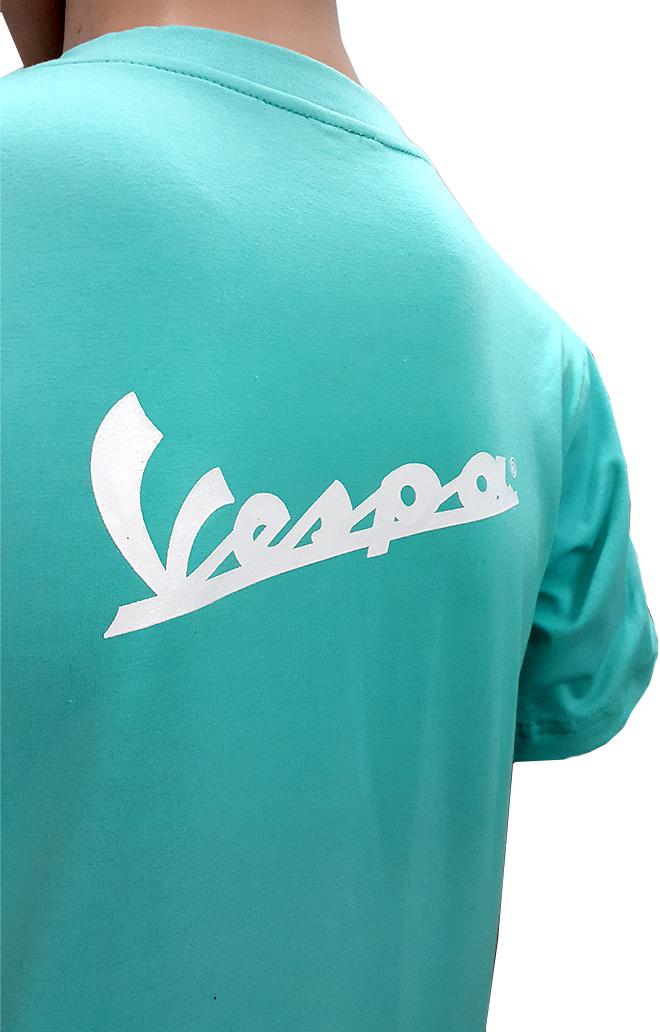 Đồng phục áo thun sự kiện kỷ niệm 70 năm thành lập của Vespa - hình 2 - zeeuni.com