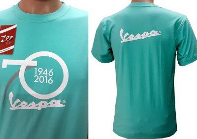 Đồng phục áo thun sự kiện kỷ niệm 70 năm thành lập của Vespa