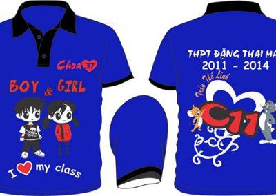 Đồng phục áo lớp theo yêu cầu - hình 8 - zeeuni.com