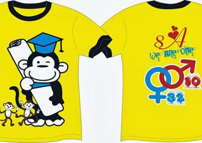 Đồng phục áo lớp theo yêu cầu - hình 2 - zeeuni.com