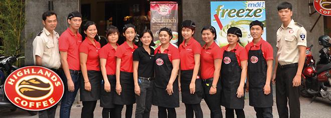 Đồng phục quán cafe đẹp hợp thời trang may ở đâu thì uy tín - zeeuni.com