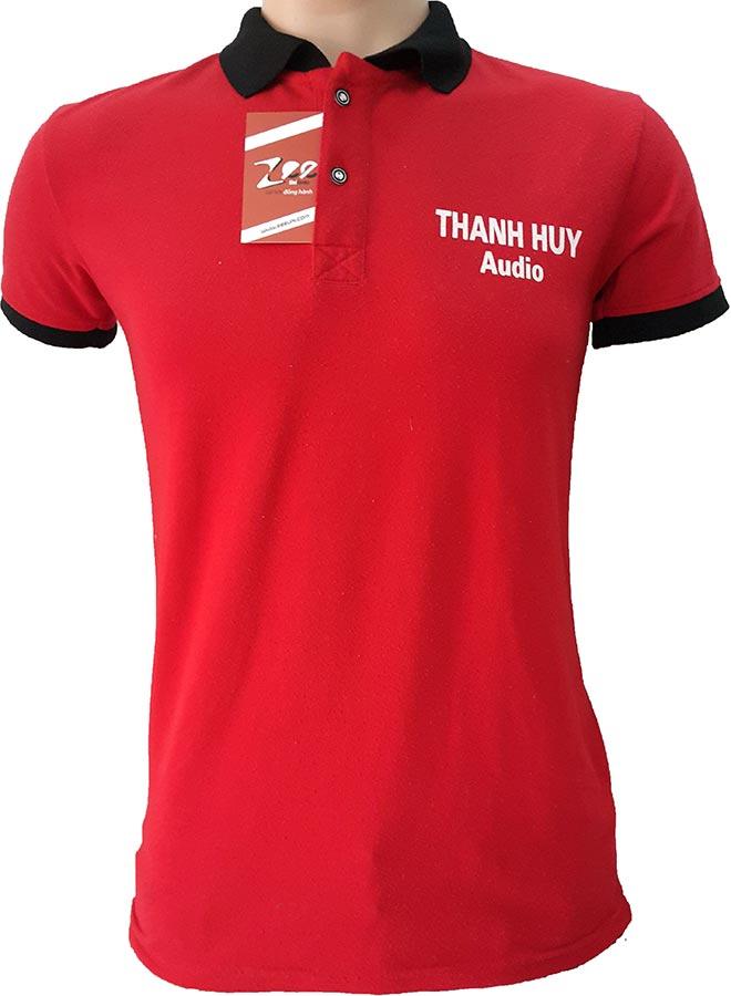 Áo thun đồng phục của Thanh Huy Audio - mặt trước