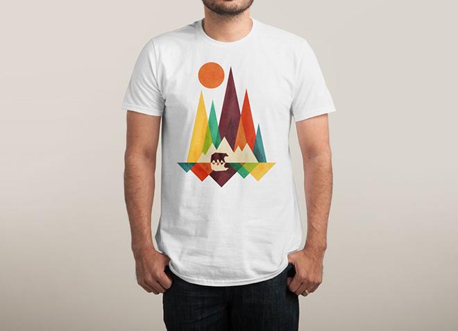 10 mẫu thiết kế áo thun đẹp nhất của Threadless - Great Outdoors - Hình 2