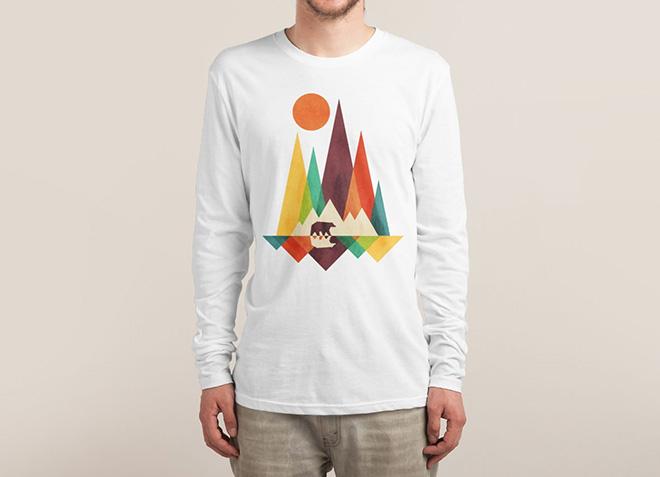 10 mẫu thiết kế áo thun đẹp nhất của Threadless - Great Outdoors - Hình 5