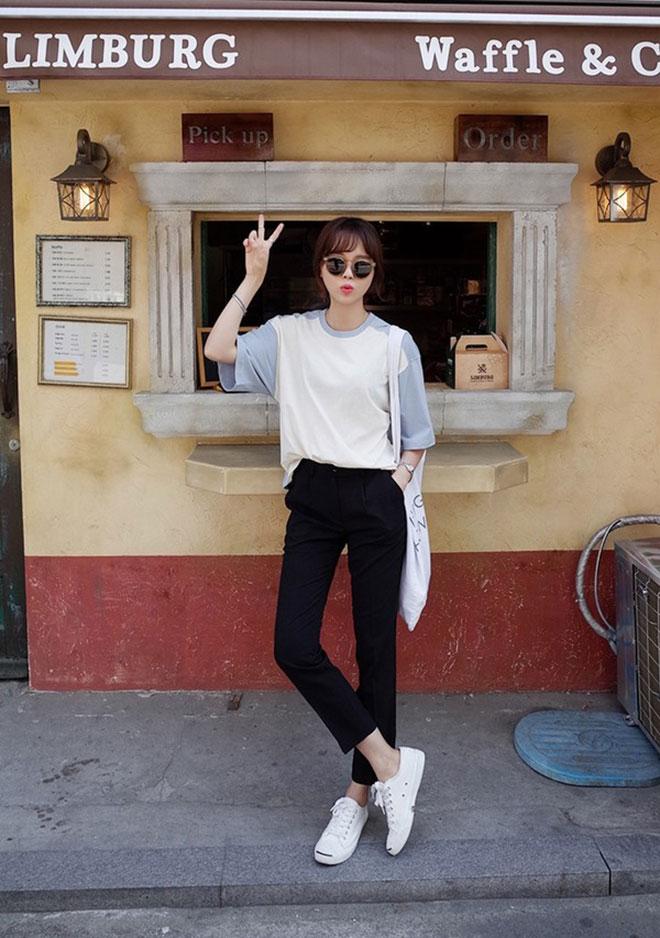 Mặc áo thun đẹp dành cho nữ - hình 1 - zeeuni.com