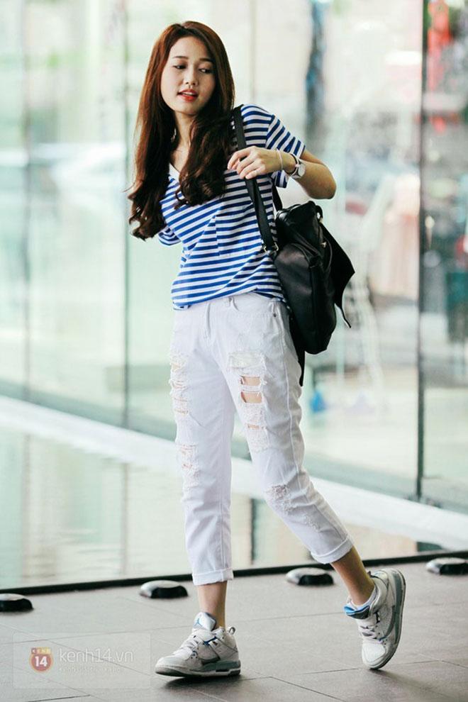 Mặc áo thun đẹp dành cho nữ - hình 10 - zeeuni.com