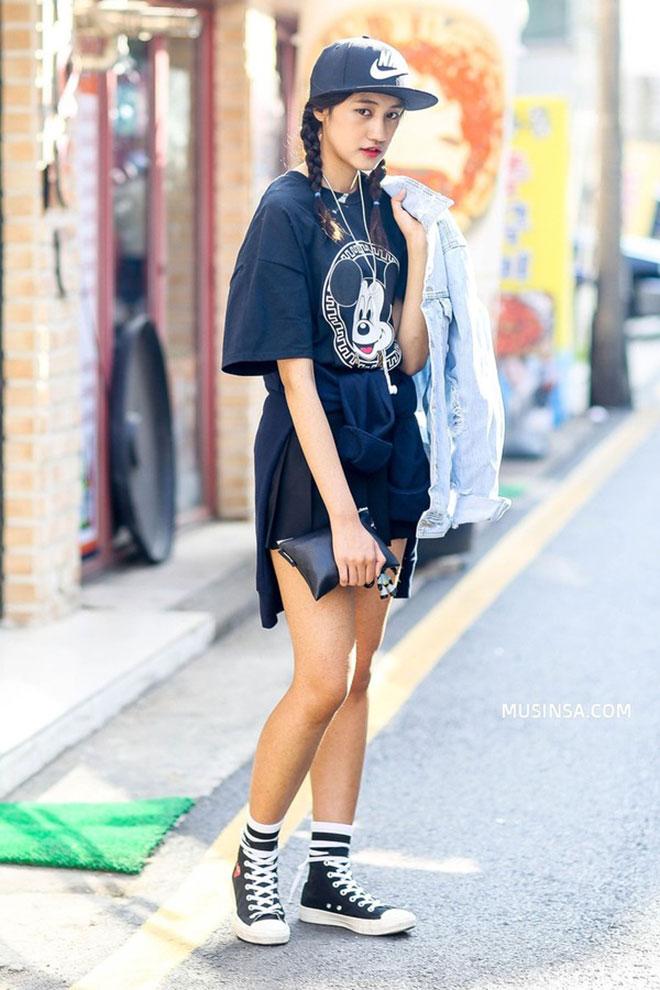 Mặc áo thun đẹp dành cho nữ - hình 16 - zeeuni.com