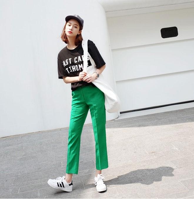 Mặc áo thun đẹp dành cho nữ - hình 17 - zeeuni.com