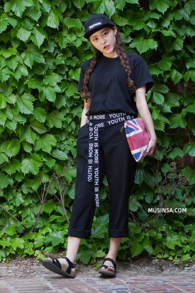 Mặc áo thun đẹp dành cho nữ - hình 18 - zeeuni.com
