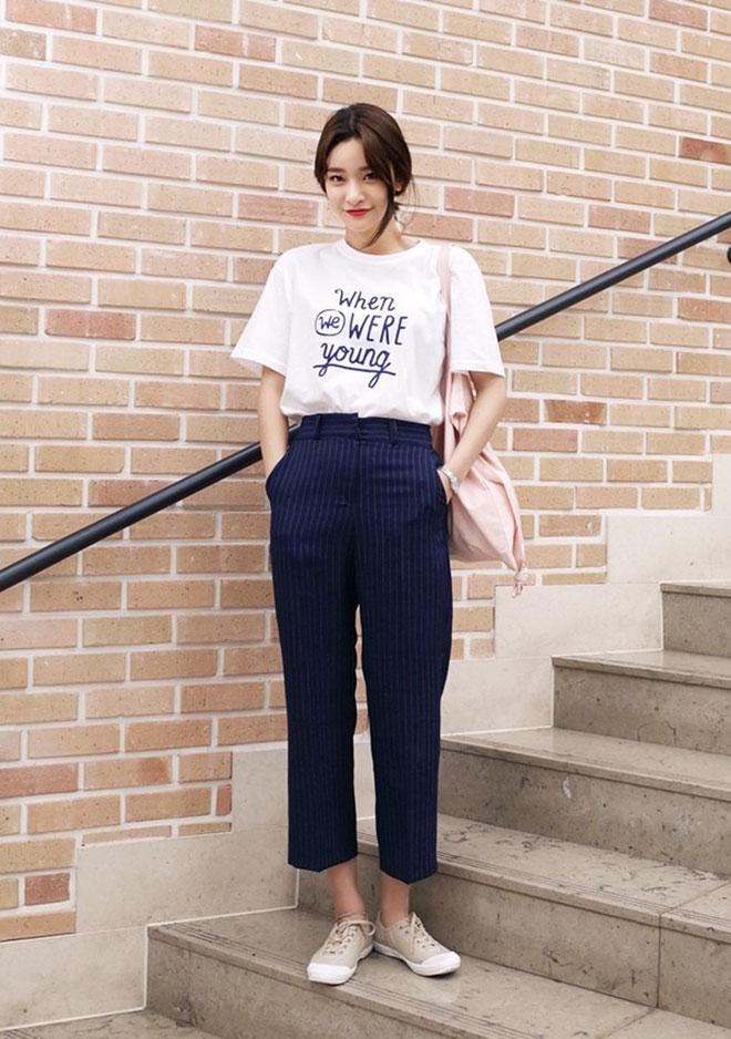 Mặc áo thun đẹp dành cho nữ - hình 2 - zeeuni.com