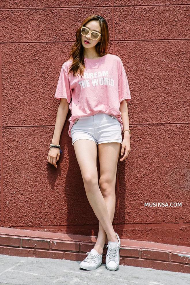 Mặc áo thun đẹp dành cho nữ - hình 21 - zeeuni.com