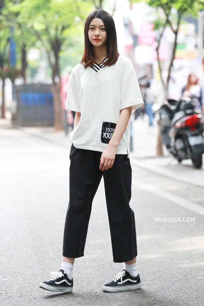 Mặc áo thun đẹp dành cho nữ - hình 3 - zeeuni.com
