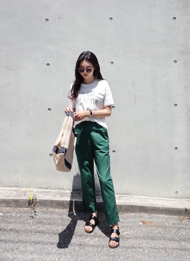 Mặc áo thun đẹp dành cho nữ - hình 8 - zeeuni.com