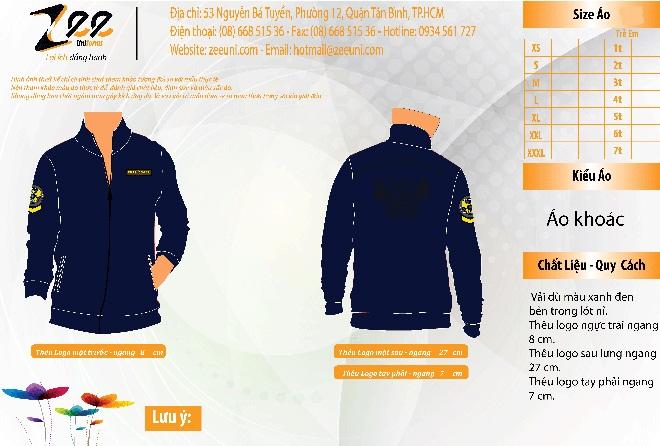 Mẫu thiết kế áo khoác nhóm thách đấu trên Market