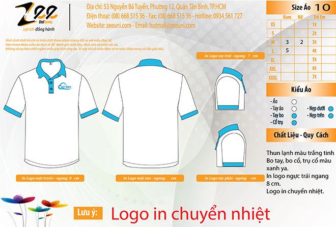 Market đồng phục áo thun dịch vụ giặt ủi Biển Xanh