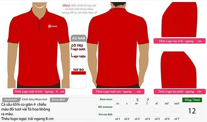 Market thiết kế áo thun đồng phục của công ty Asia 24 trên máy vi tính.
