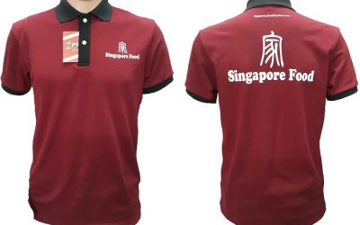 Áo thun đồng phục của Singapore Food
