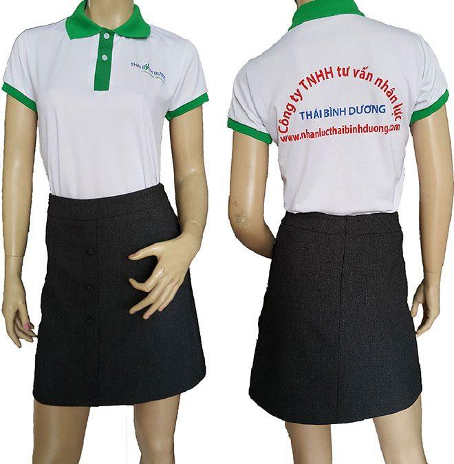 Áo thun đồng phục công ty Thái Bình Dương