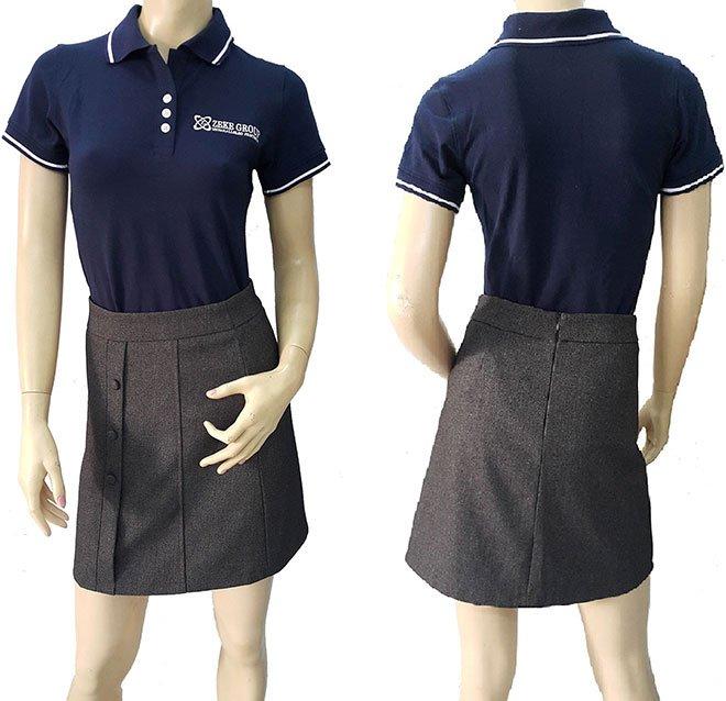 Mẫu áo thun đồng phục công ty Zeke