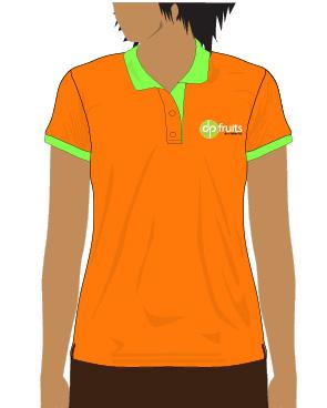 Mẫu thiết kế áo thun cho DPFruits