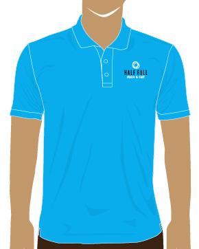Mẫu thiết kế áo thun cho Halffull