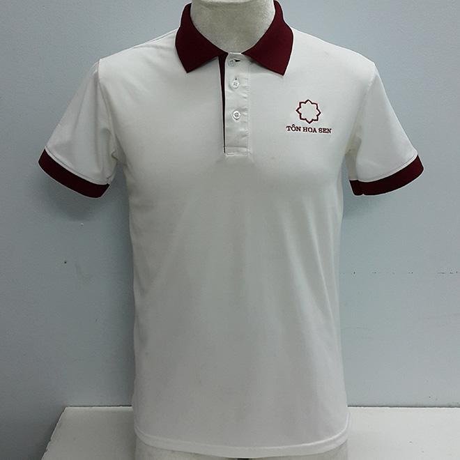 May áo thun đồng phục chất lượng cao của Tôn Hoa Sen