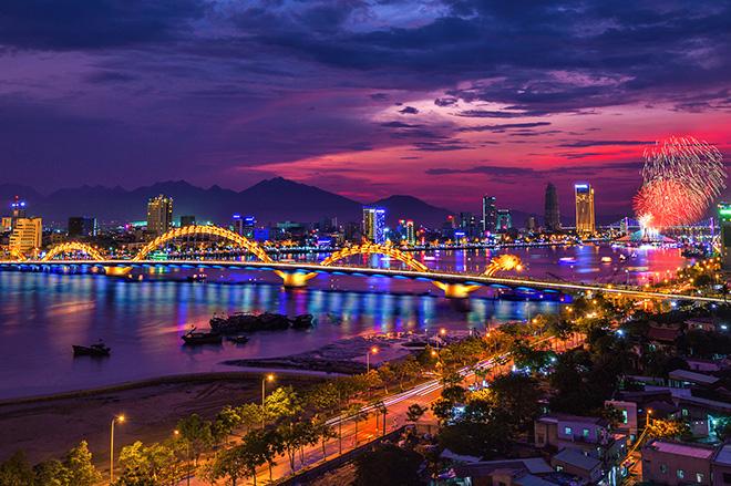 Cầu Rồng biểu tưởng của TP Đà Nẵng